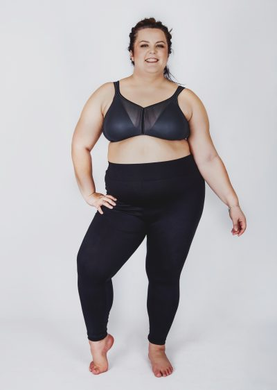 AntiCell Black Leggings plus size